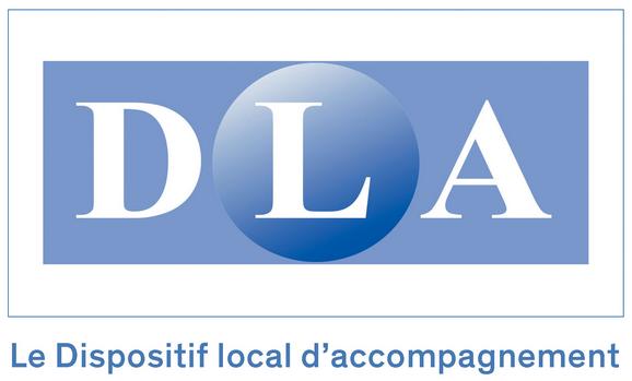 logo DLA dispositif local d'accompagnement